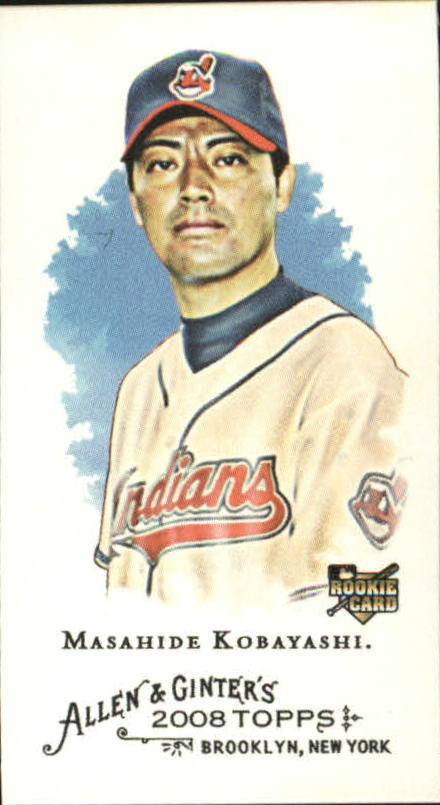 2008 Topps Allen and Ginter Mini #83 Masahide Kobayashi