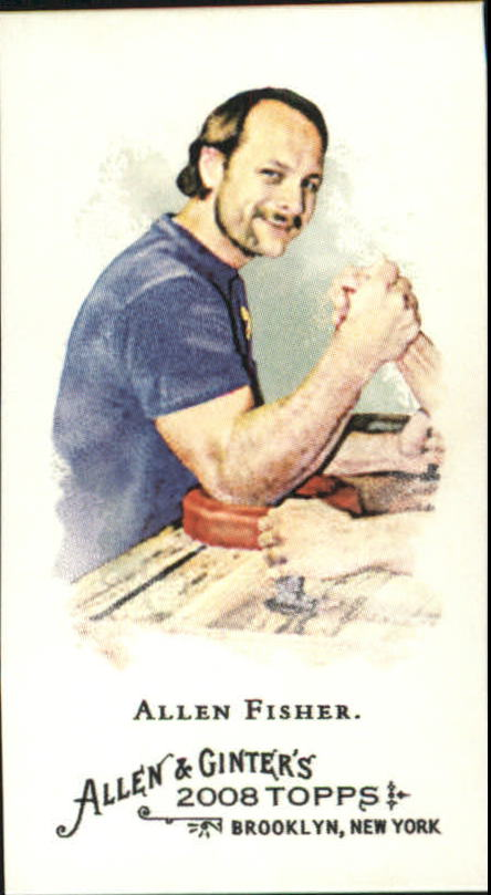 2008 Topps Allen and Ginter Mini #336 Allen Fisher