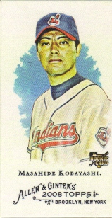 2008 Topps Allen and Ginter Mini A and G Back #83 Masahide Kobayashi