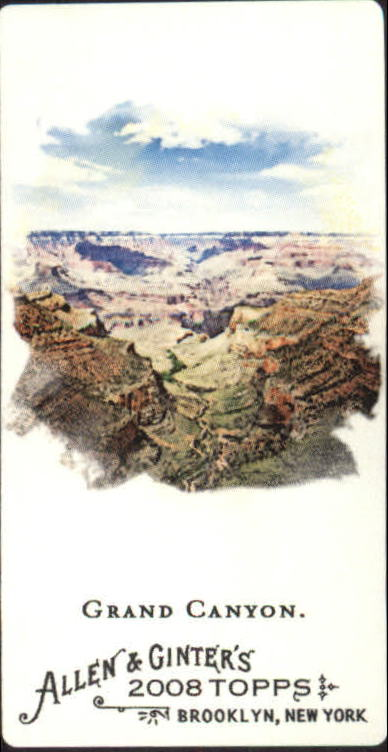 2008 Topps Allen and Ginter Mini Black #144 Grand Canyon