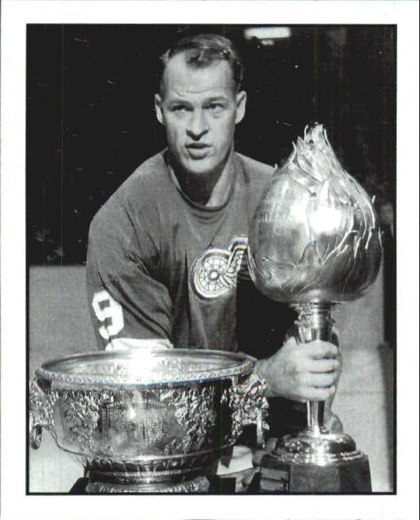 2008 Upper Deck Goudey Hit Parade of Champions #10 Gordie Howe