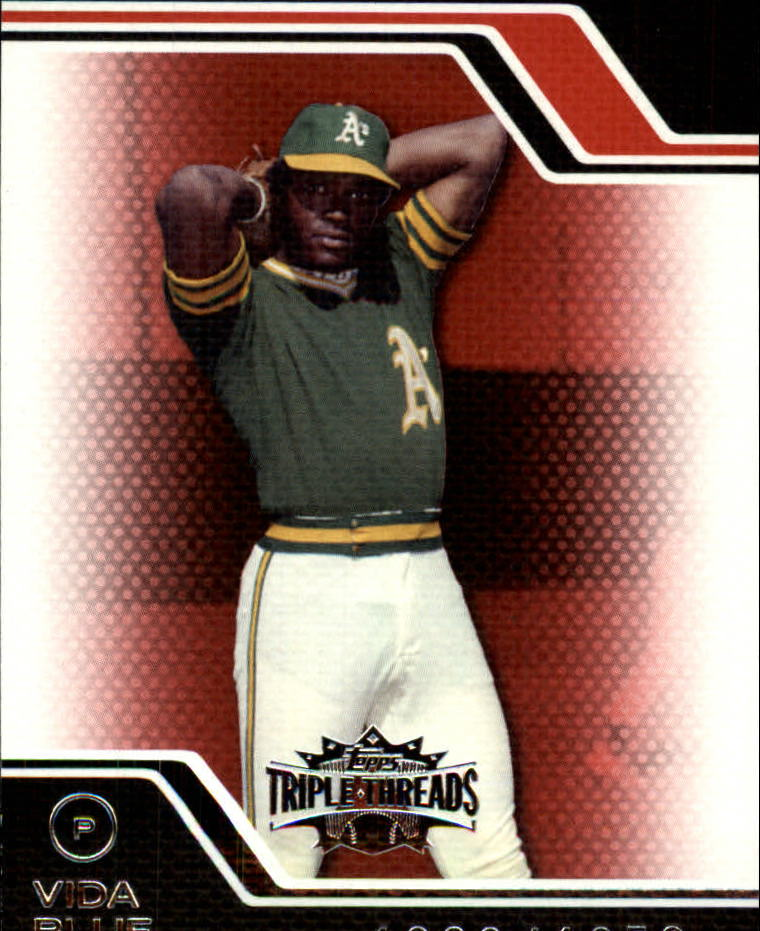 2008 Topps Triple Threads #65 Vida Blue