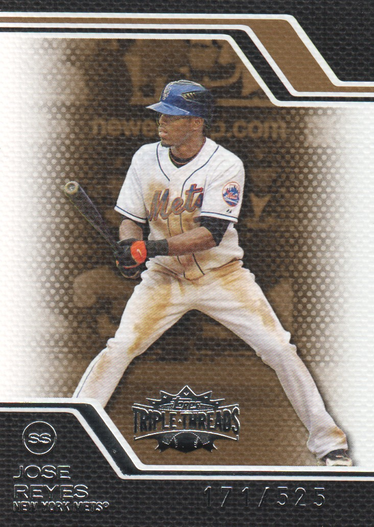 2008 Topps Triple Threads Sepia #63 Jose Reyes