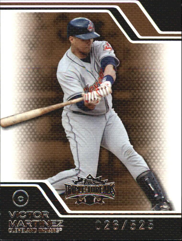 2008 Topps Triple Threads Sepia #84 Victor Martinez