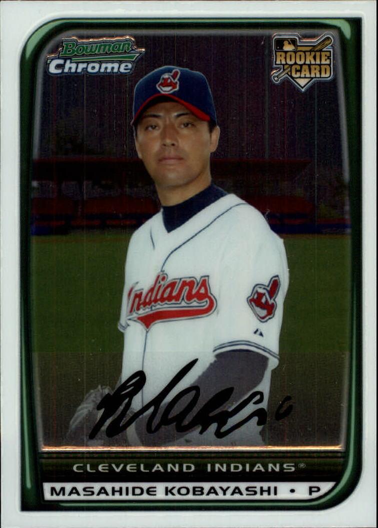 2008 Bowman Chrome #219 Masahide Kobayashi RC