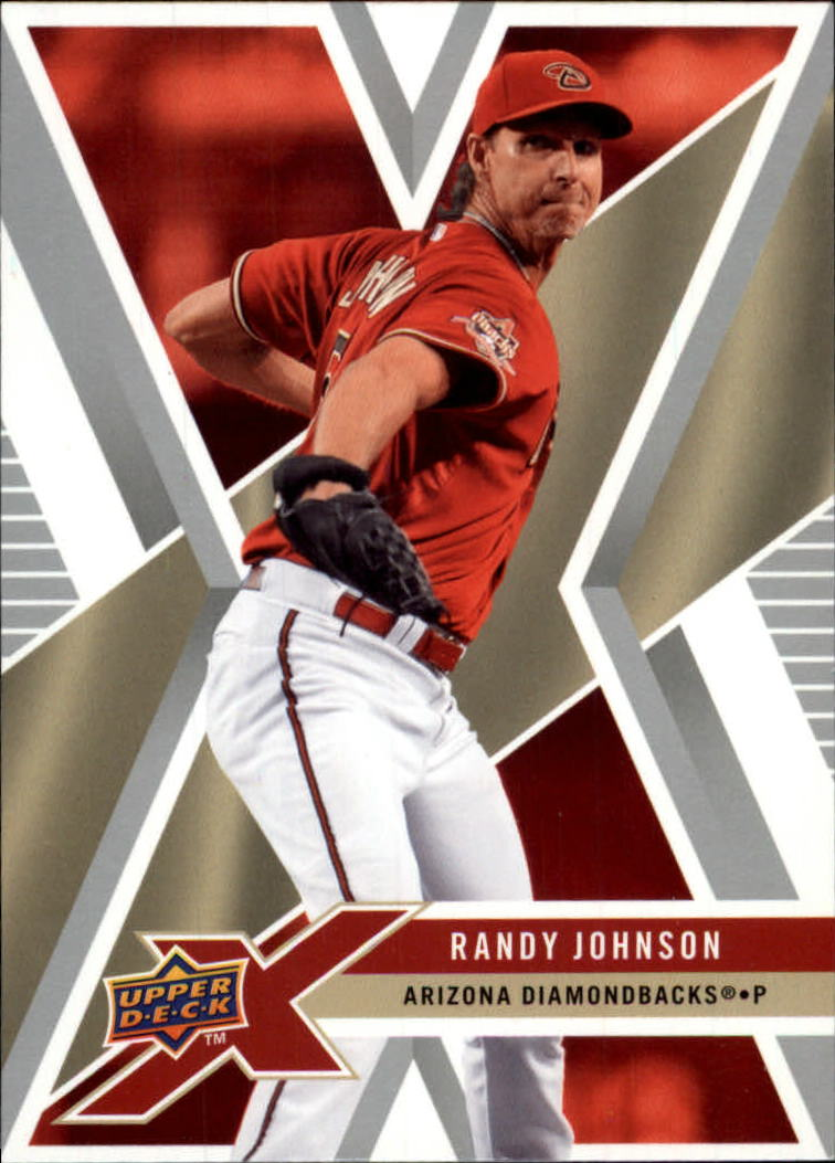 2008 Upper Deck X #1 Randy Johnson