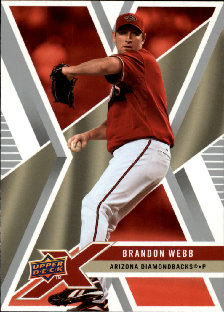 2008 Upper Deck X #3 Brandon Webb