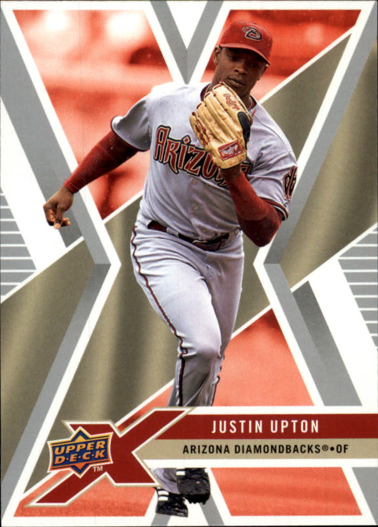 2008 Upper Deck X #4 Justin Upton