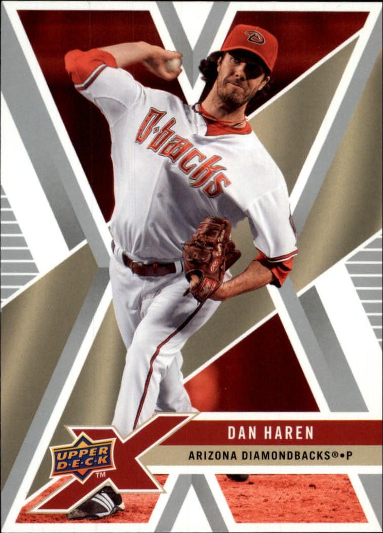 2008 Upper Deck X #5 Dan Haren