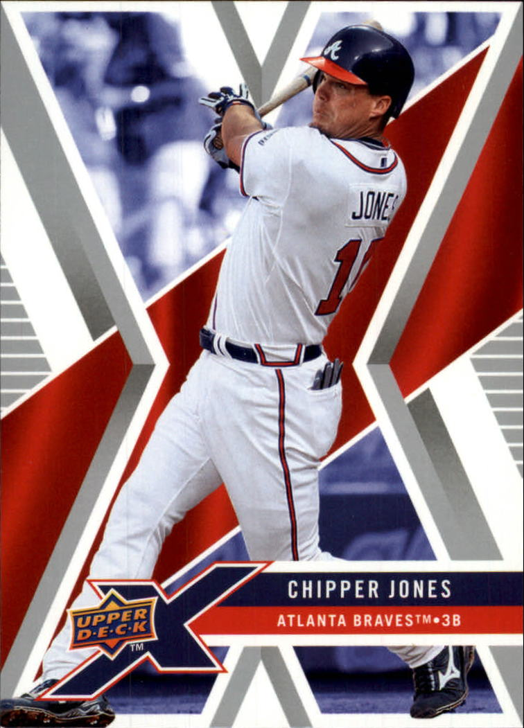 2008 Upper Deck X #7 Chipper Jones