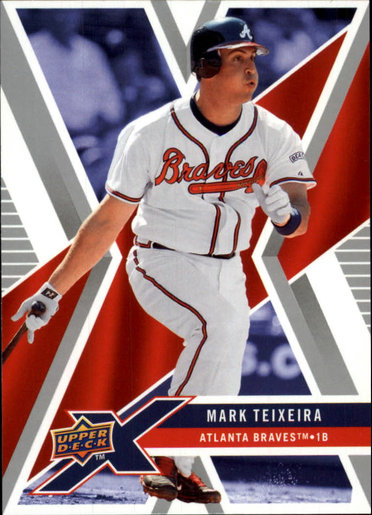 2008 Upper Deck X #8 Mark Teixeira