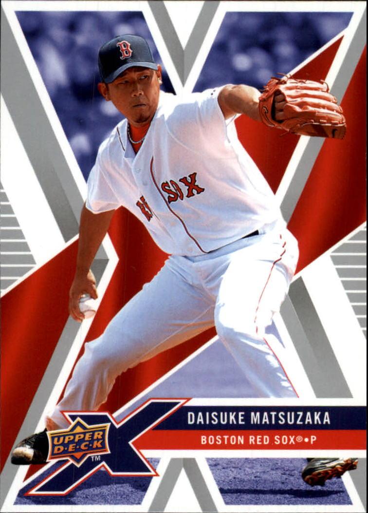 2008 Upper Deck X #11 Daisuke Matsuzaka