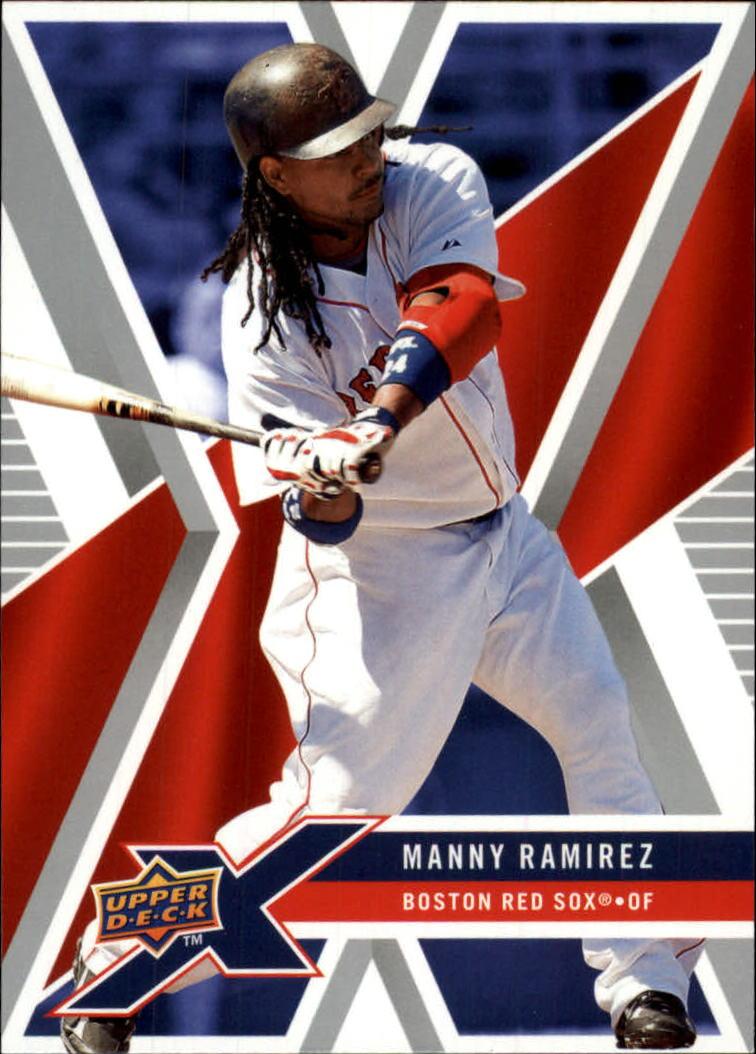 2008 Upper Deck X #13 Manny Ramirez