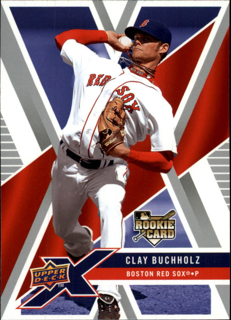 2008 Upper Deck X #16 Clay Buchholz (RC)