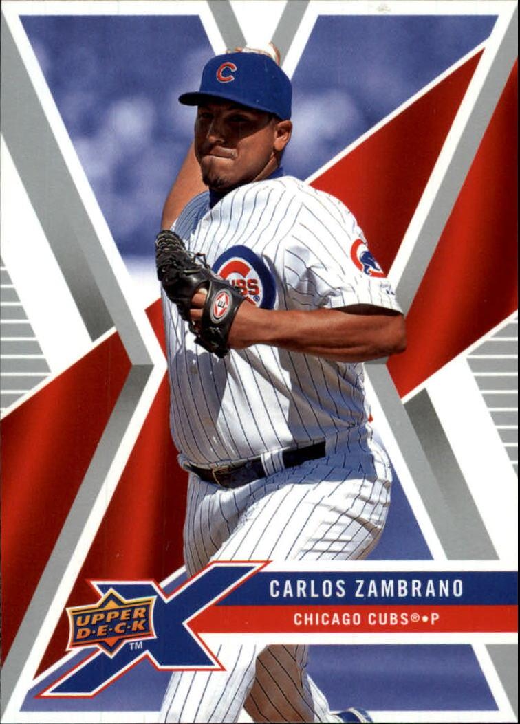 2008 Upper Deck X #17 Carlos Zambrano
