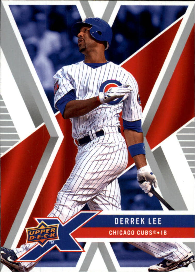 2008 Upper Deck X #18 Derrek Lee