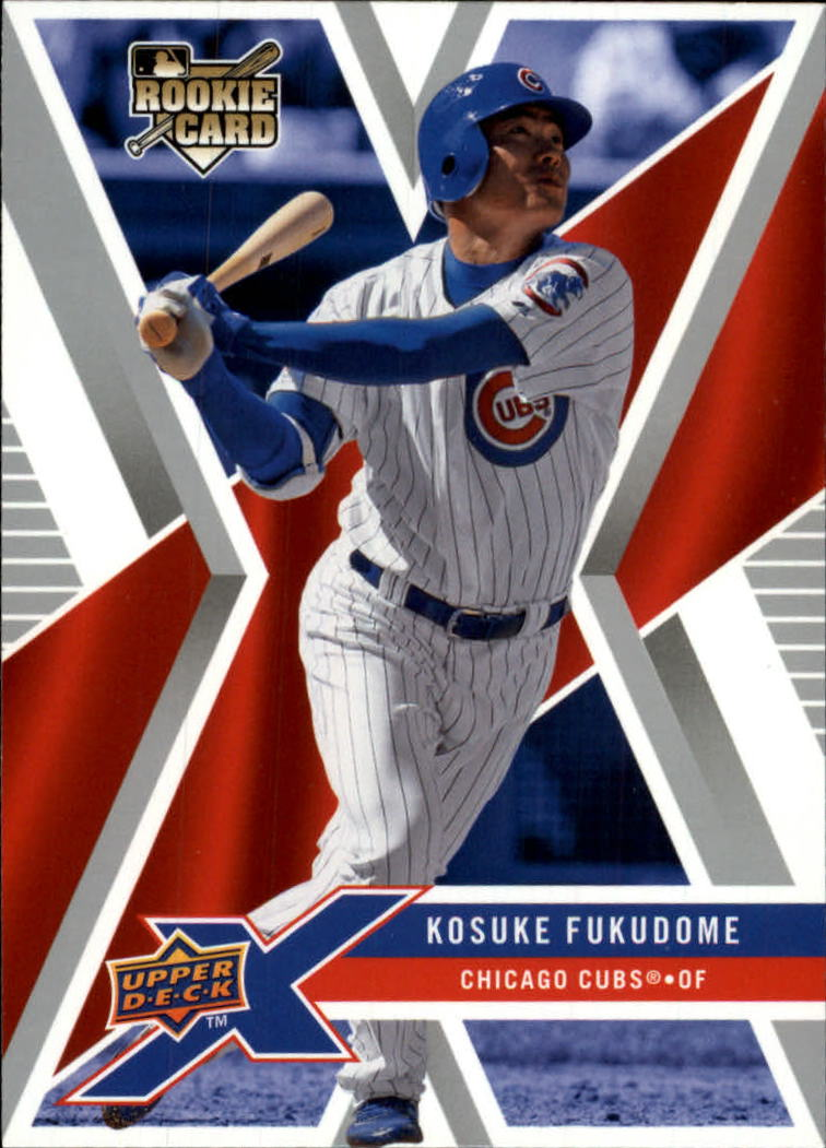 2008 Upper Deck X #22 Kosuke Fukudome RC