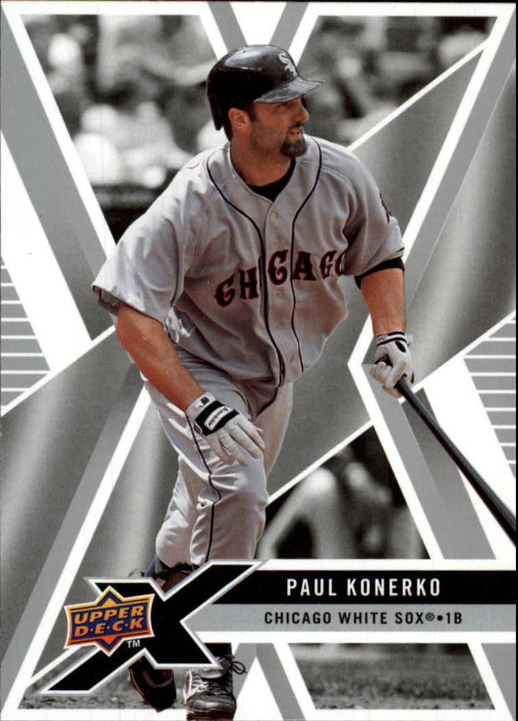 2008 Upper Deck X #24 Paul Konerko