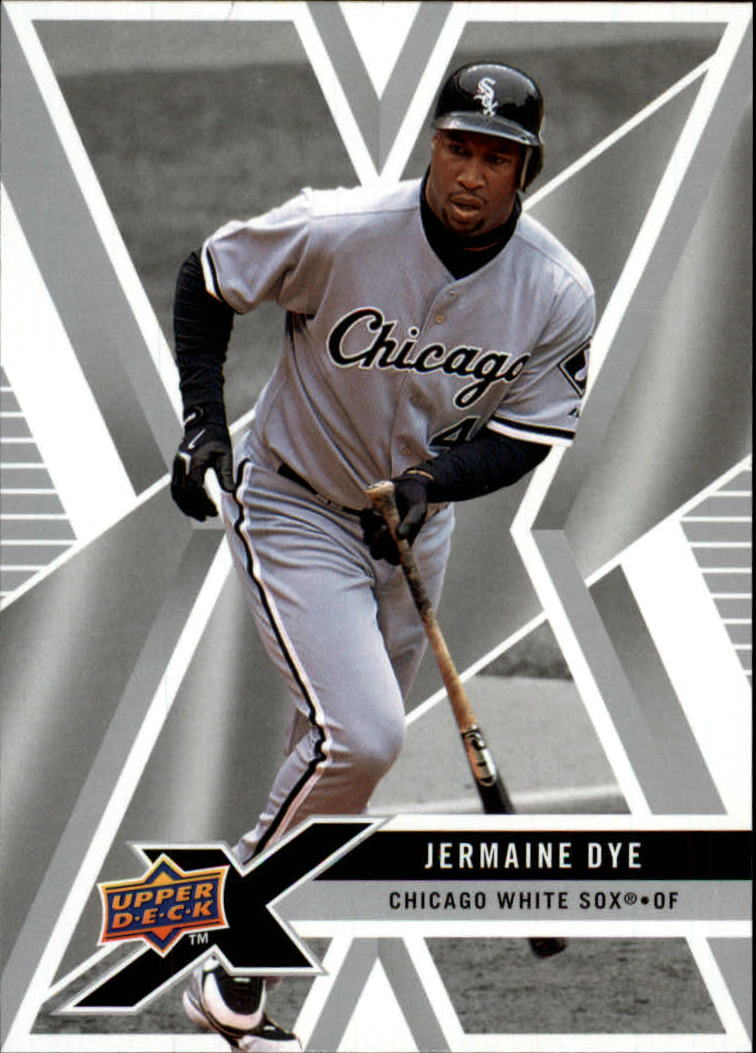2008 Upper Deck X #25 Jermaine Dye