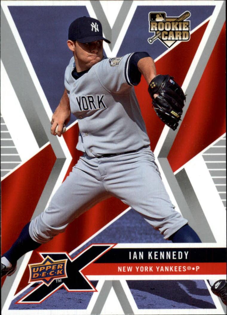 2008 Upper Deck X #66 Ian Kennedy RC
