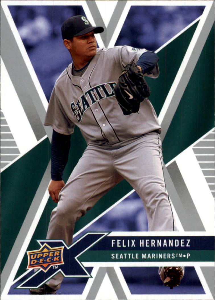 2008 Upper Deck X #88 Felix Hernandez
