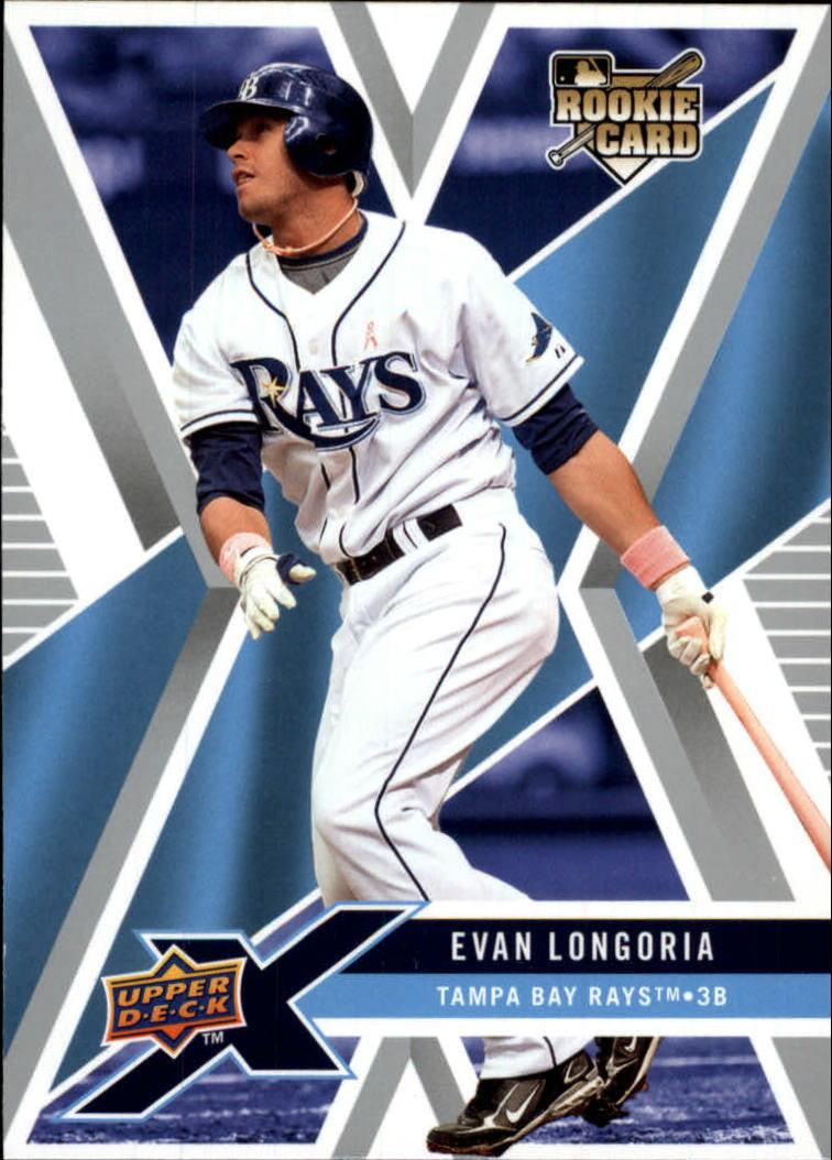 2008 Upper Deck X #94 Evan Longoria RC