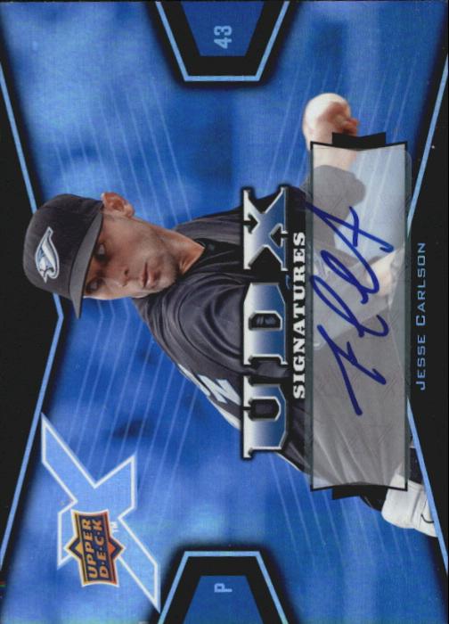2008 Upper Deck X Signatures #CA Jesse Carlson