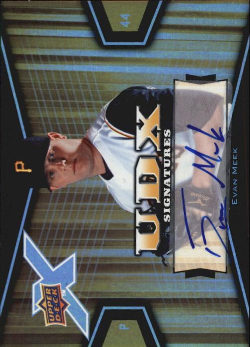 2008 Upper Deck X Signatures #EM Evan Meek
