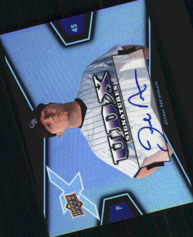 2008 Upper Deck X Signatures #JN Josh Newman