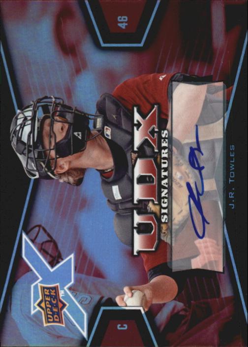 2008 Upper Deck X Signatures #JT J.R. Towles