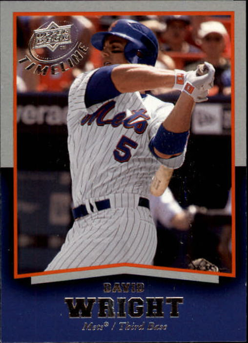 2008 Upper Deck Timeline #2 David Wright