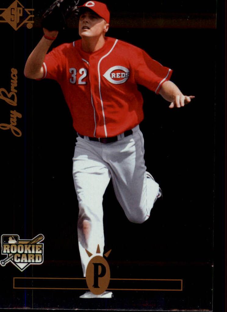 2008 Upper Deck Timeline #355 Jay Bruce 94 SP