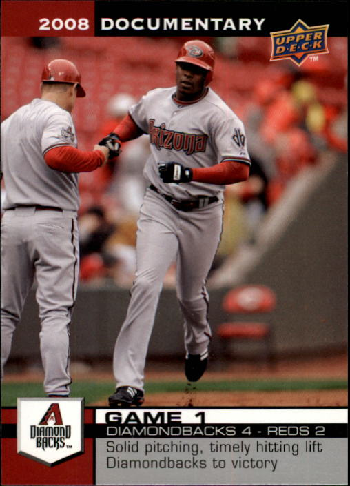 2008 Upper Deck Documentary #11 Justin Upton