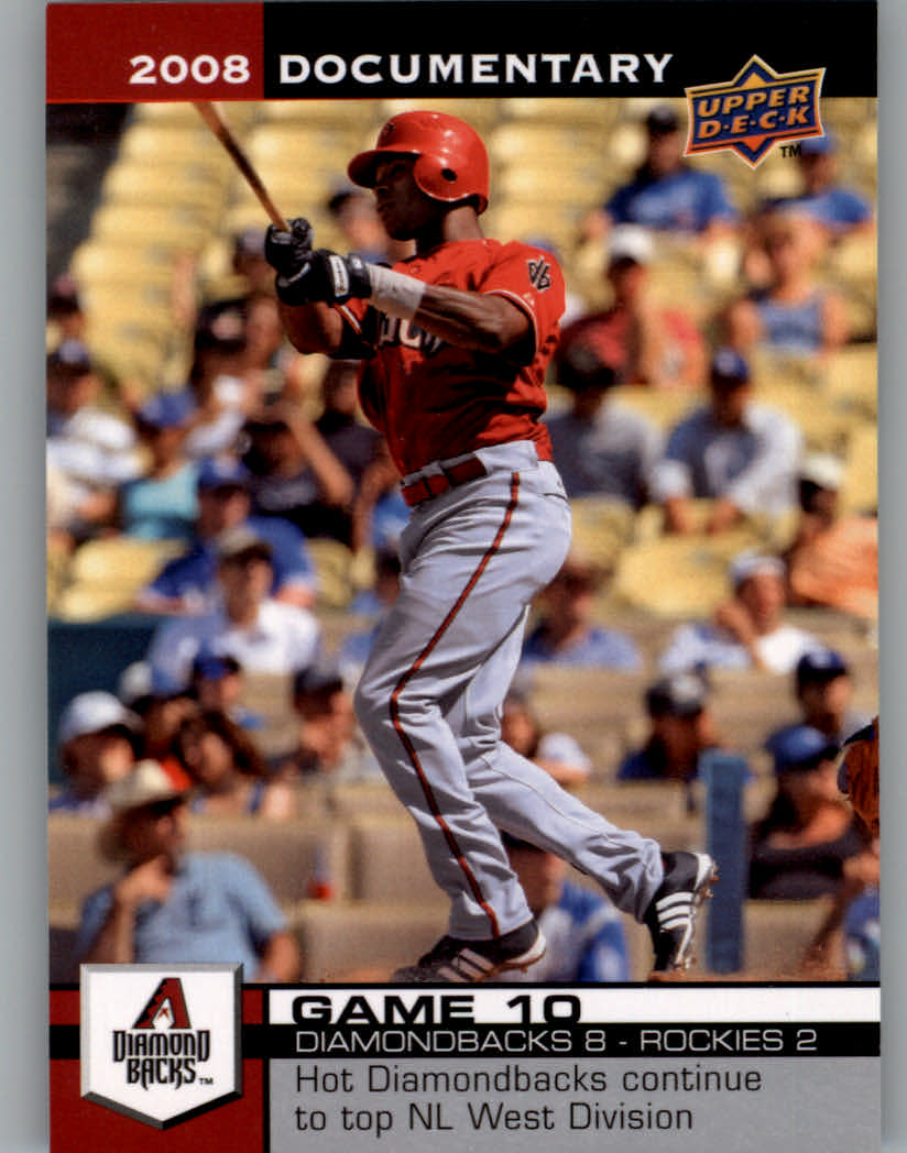 2008 Upper Deck Documentary #20 Justin Upton