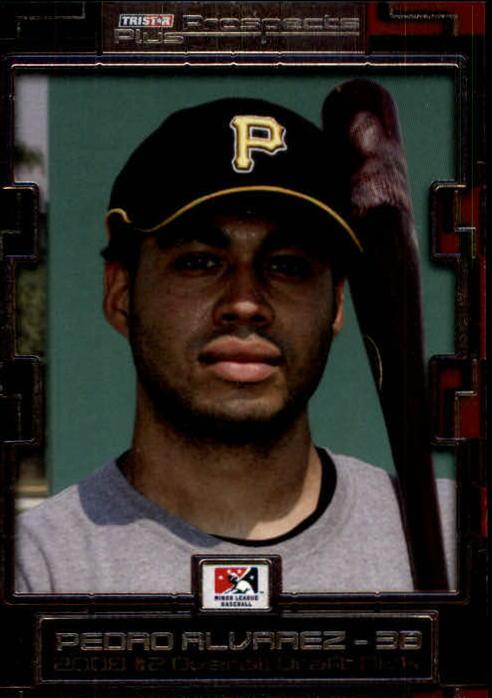2008 TRISTAR Prospects Plus #2 Pedro Alvarez