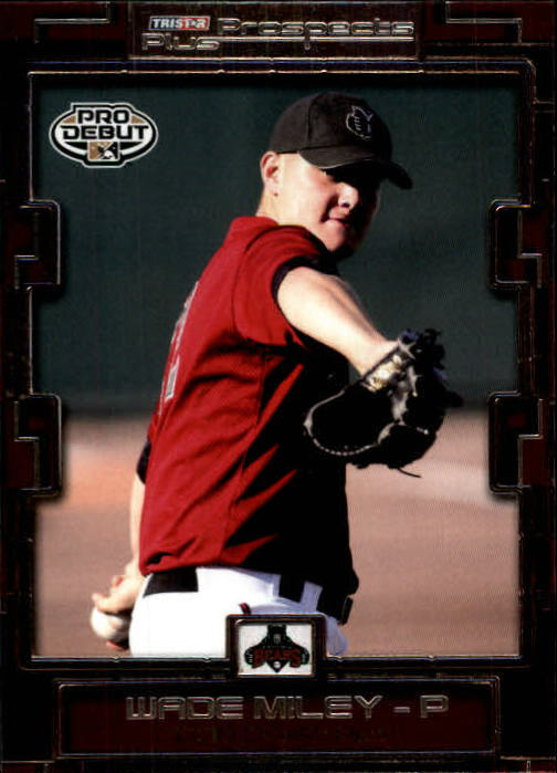 2008 TRISTAR Prospects Plus #53 Wade Miley PD