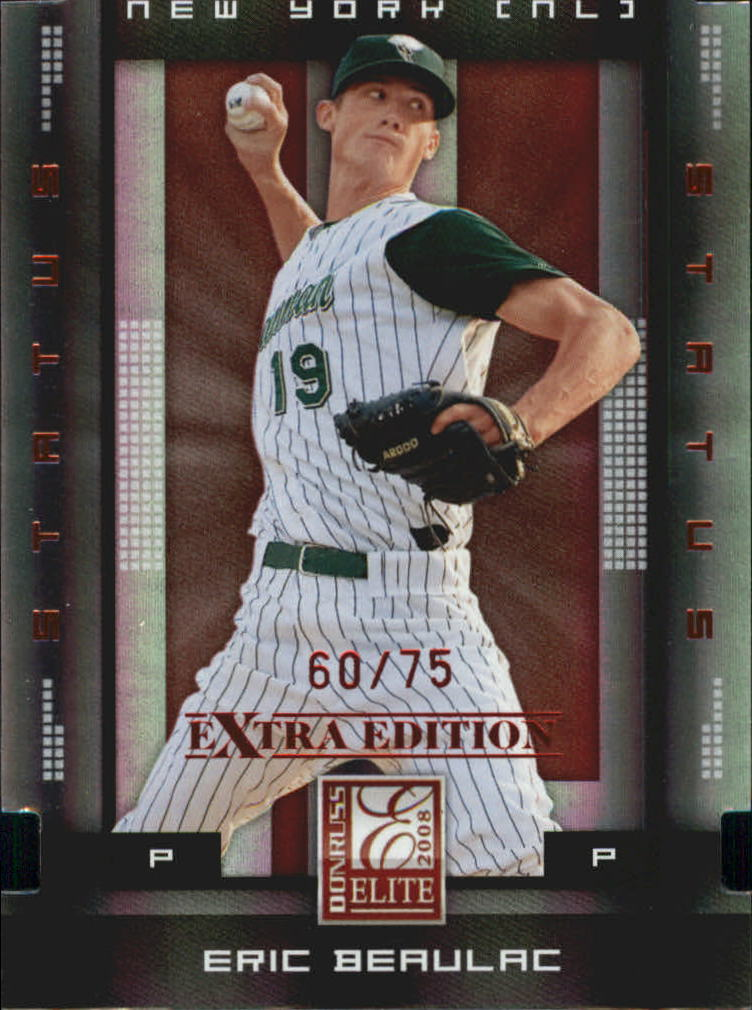 Buy Eric Beaulac Cards Online Eric Beaulac Baseball Price Guide