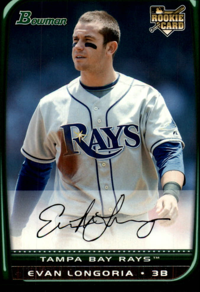 2008 Bowman Draft #BDP27 Evan Longoria RC
