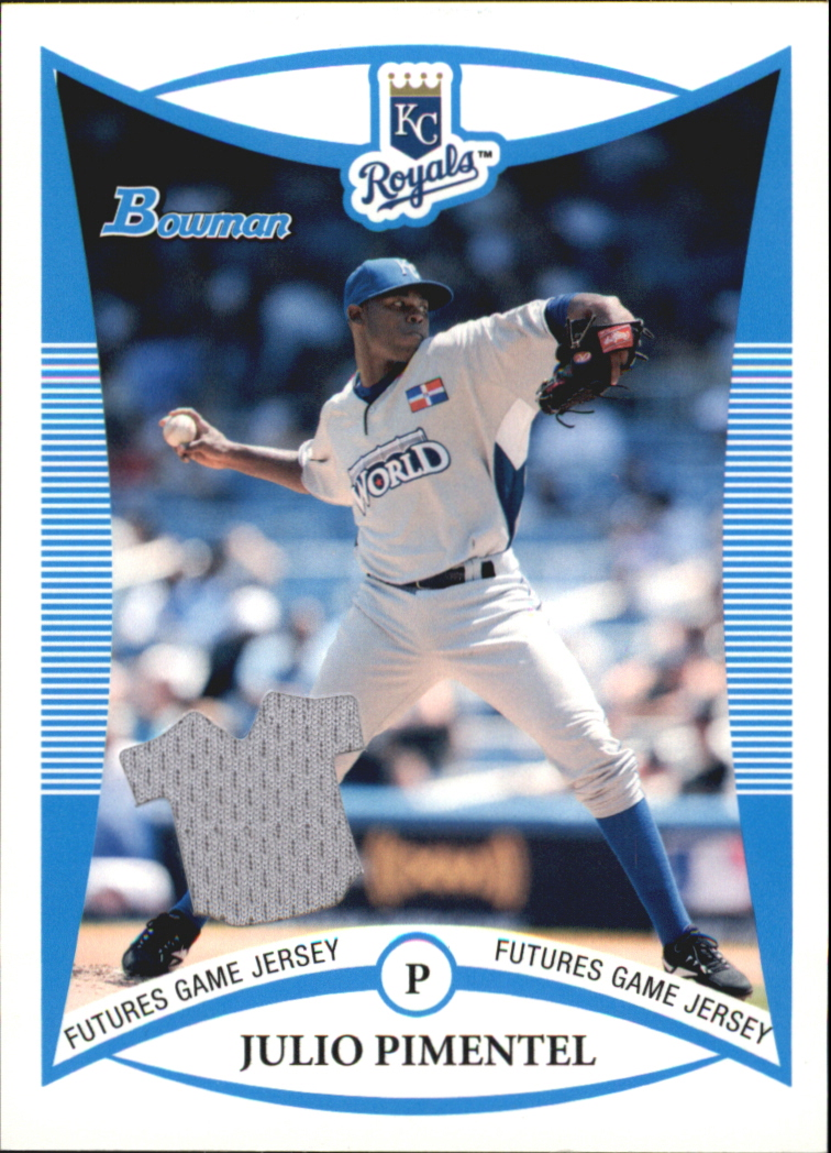 2008 Bowman Draft Prospects Jerseys #BDPP74 Julio Pimentel FG