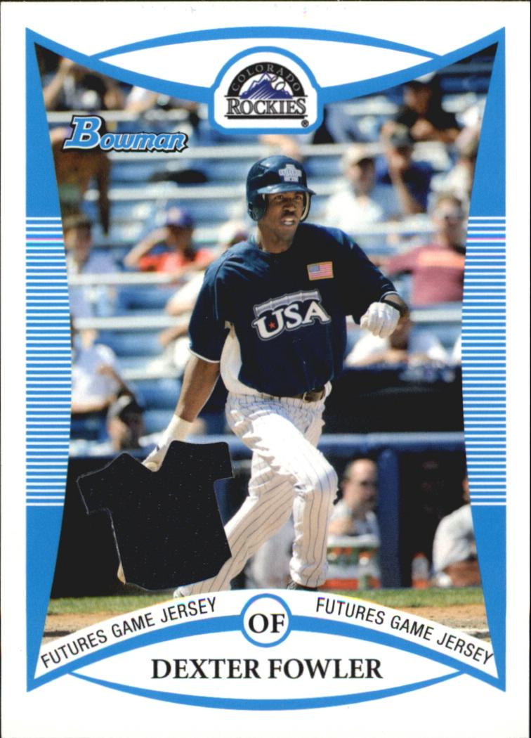 2008 Bowman Draft Prospects Jerseys #BDPP75 Dexter Fowler FG