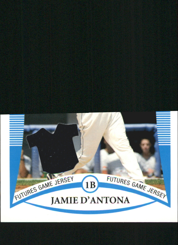 2008 Bowman Draft Prospects Jerseys #BDPP87 Jamie D'Antona FG