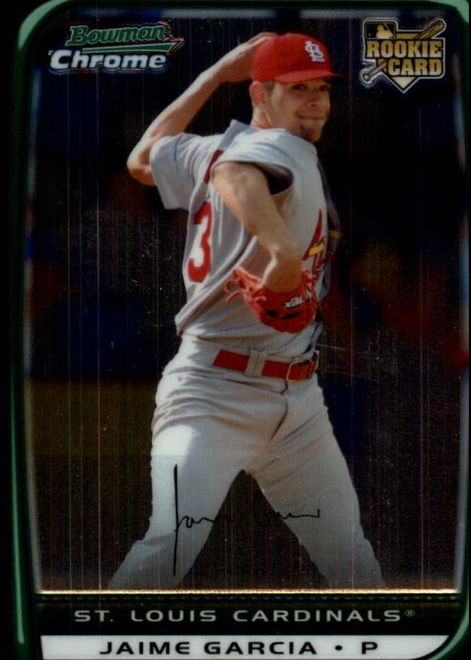 2008 Bowman Chrome Draft #BDP17 Jaime Garcia RC
