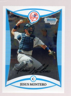2008 Bowman Chrome Draft Prospects #BDPP86 Jesus Montero FG