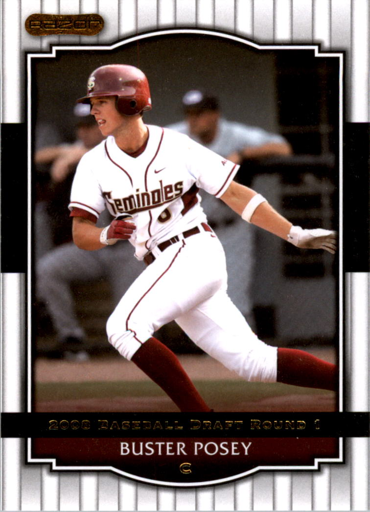 2008 Razor Signature Series #5 Buster Posey