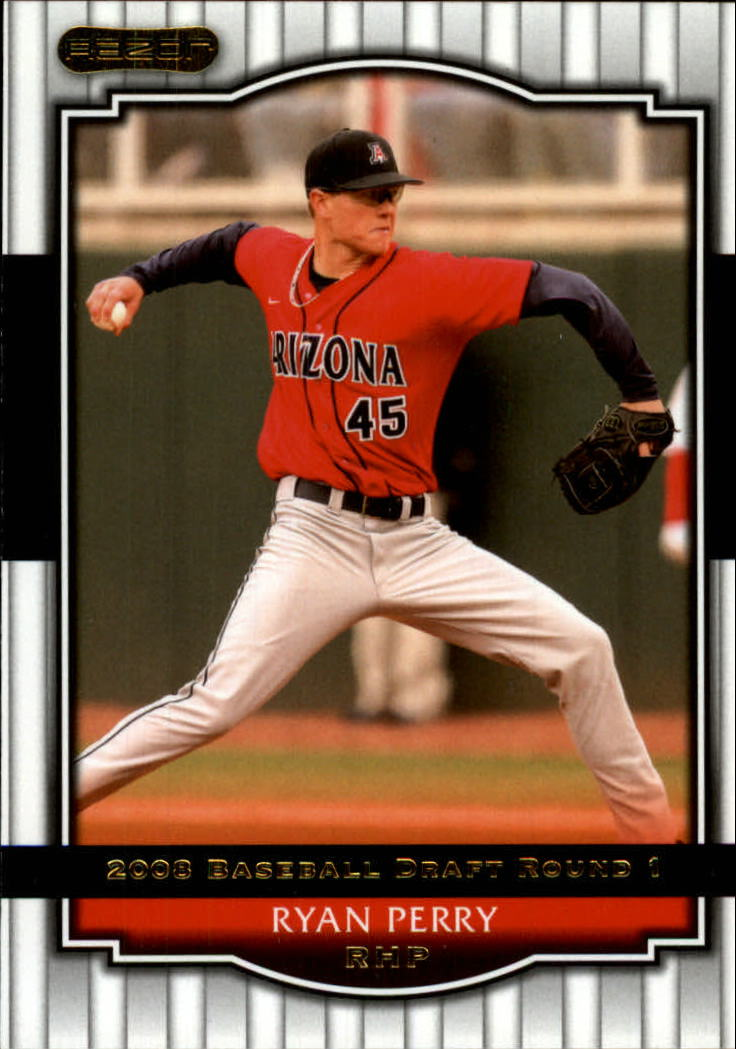 2008 Razor Signature Series #21 Ryan Perry
