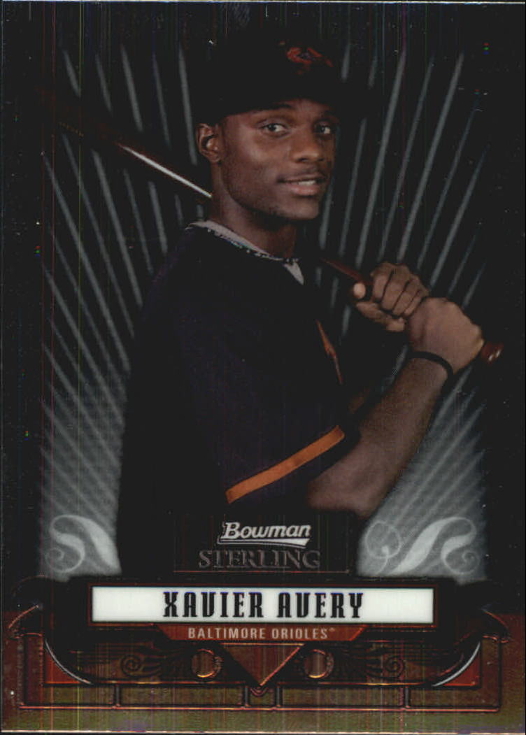 2008 Bowman Sterling Prospects #XA Xavier Avery