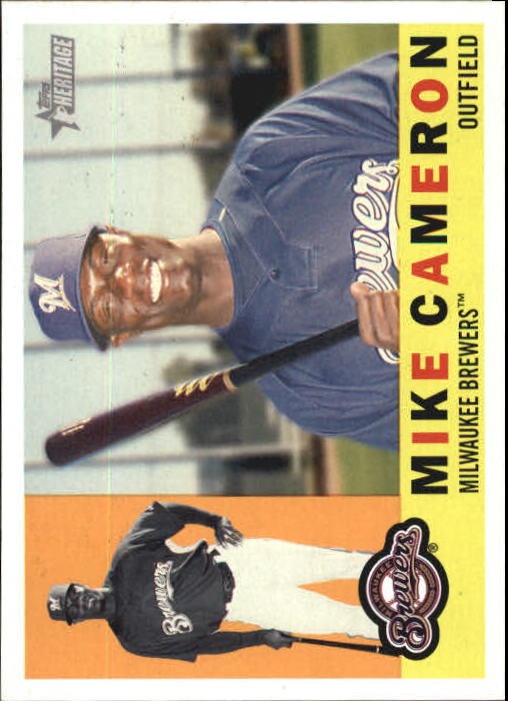 2009 Topps Heritage #39 Mike Cameron