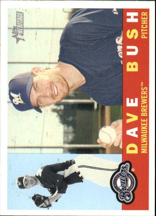 2009 Topps Heritage #41 Dave Bush