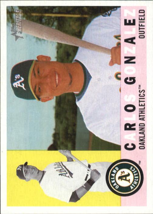 2009 Topps Heritage #81 Carlos Gonzalez