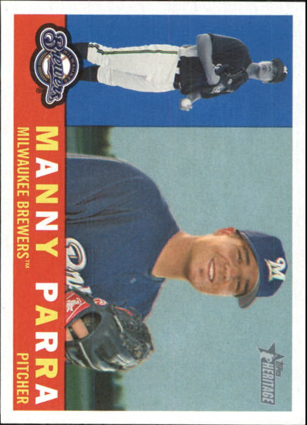 2009 Topps Heritage #211 Manny Parra